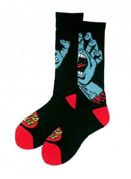 Santa Cruz Screaming Hand Sock
