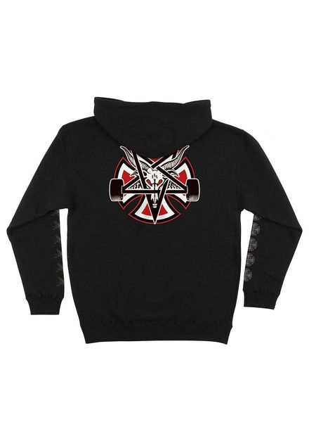 Independent Independent Thrasher Pentagram Cross Hooded PO