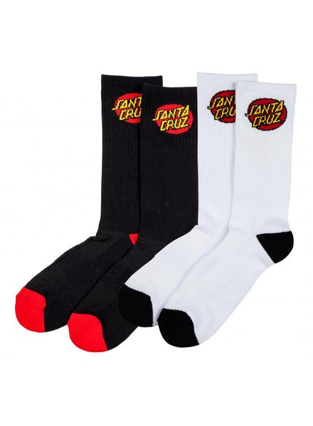 Santa Cruz Santa Cruz Classic Dot Sock (2 Pack)