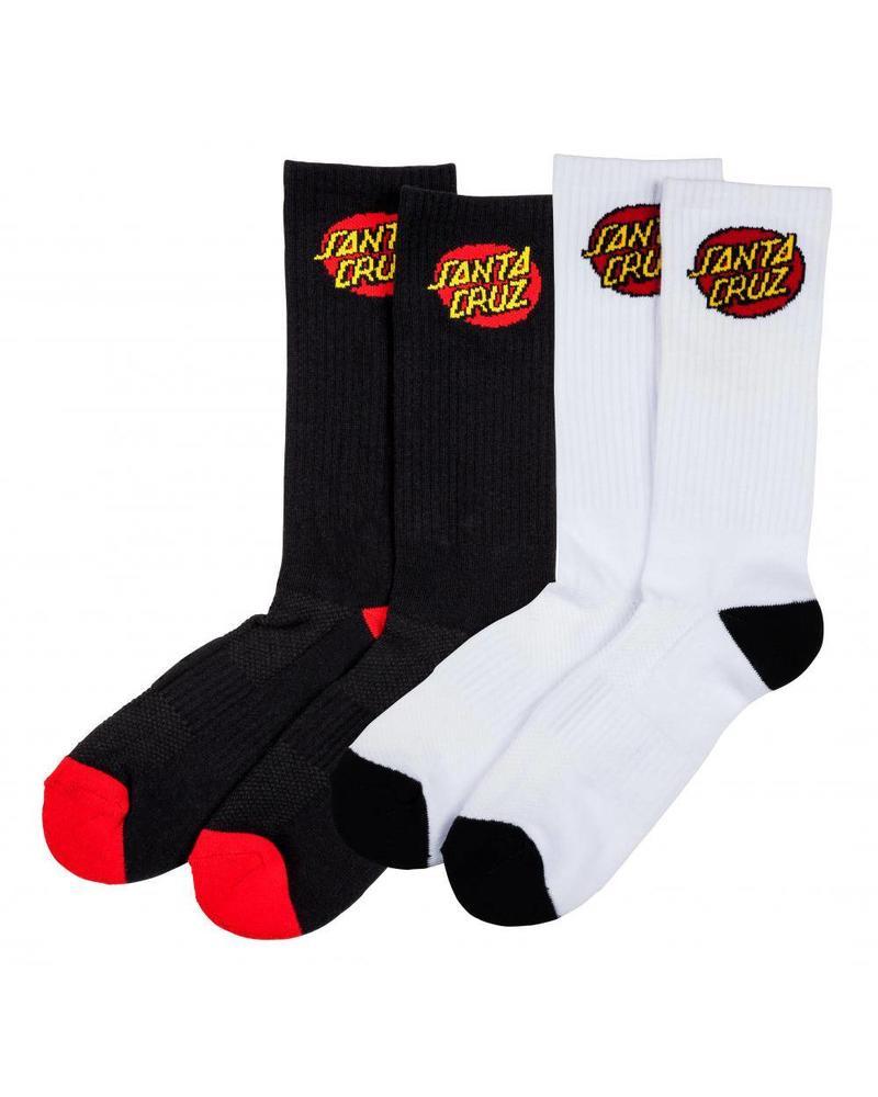Santa Cruz Santa Cruz Classic Dot Sock (2 Pack)