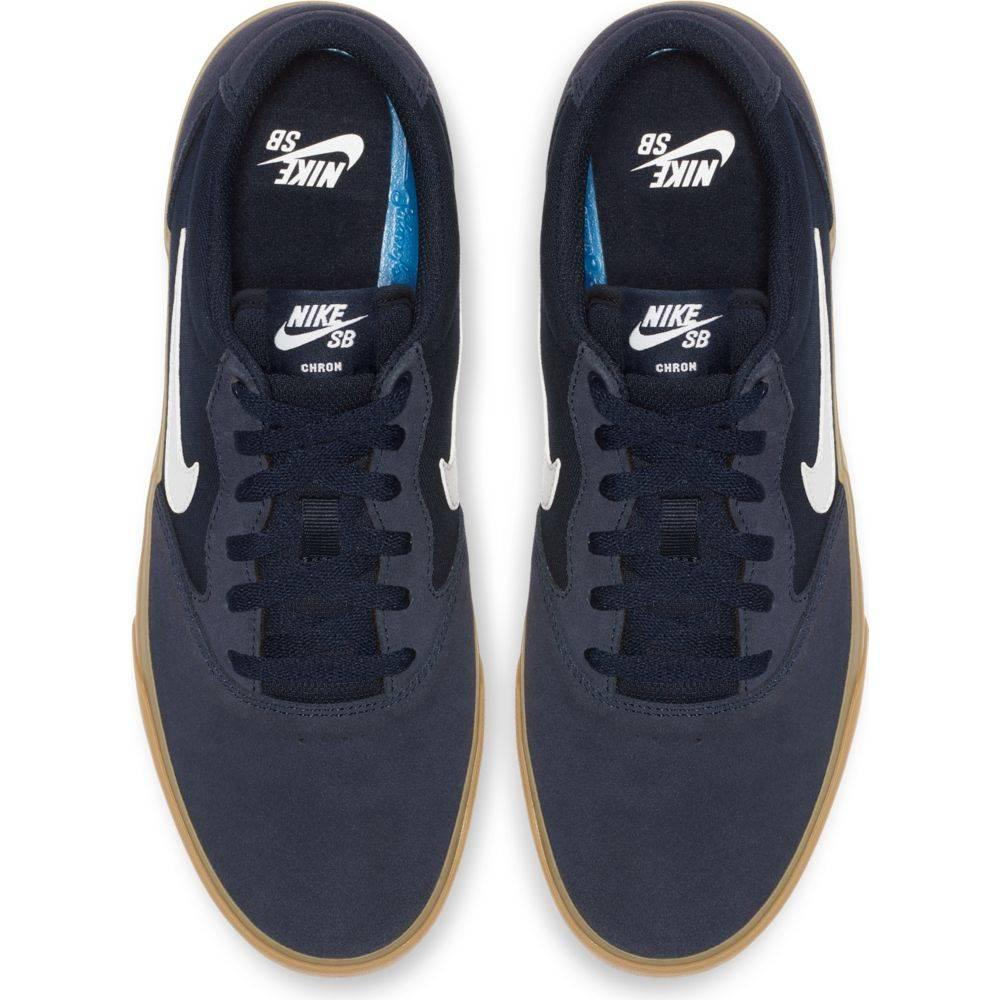55ab814f71c Nike SB Chron SLR Obsidian   White   CD6278 400 - er-rol.nl