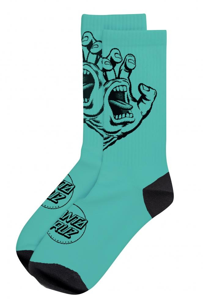 Santa Cruz Santa Cruz Screaming Hand Mono Sock