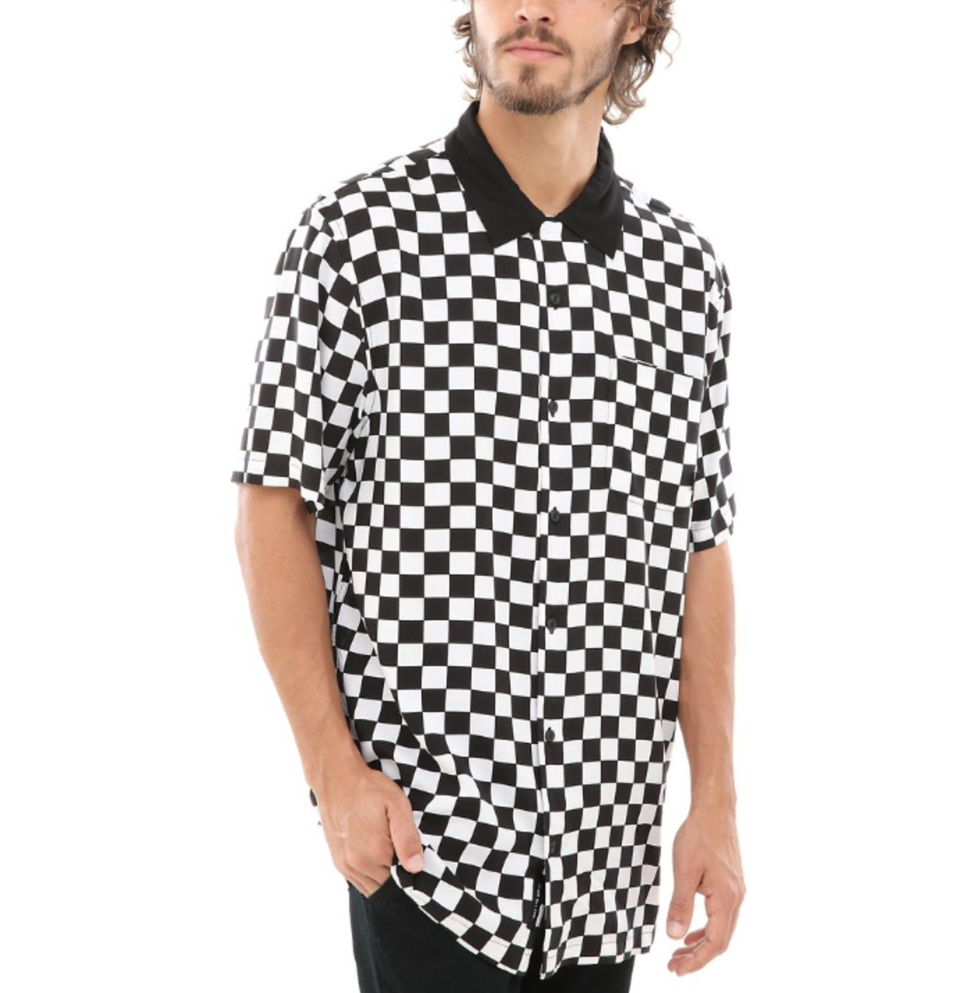 Vans Checker Camp SS