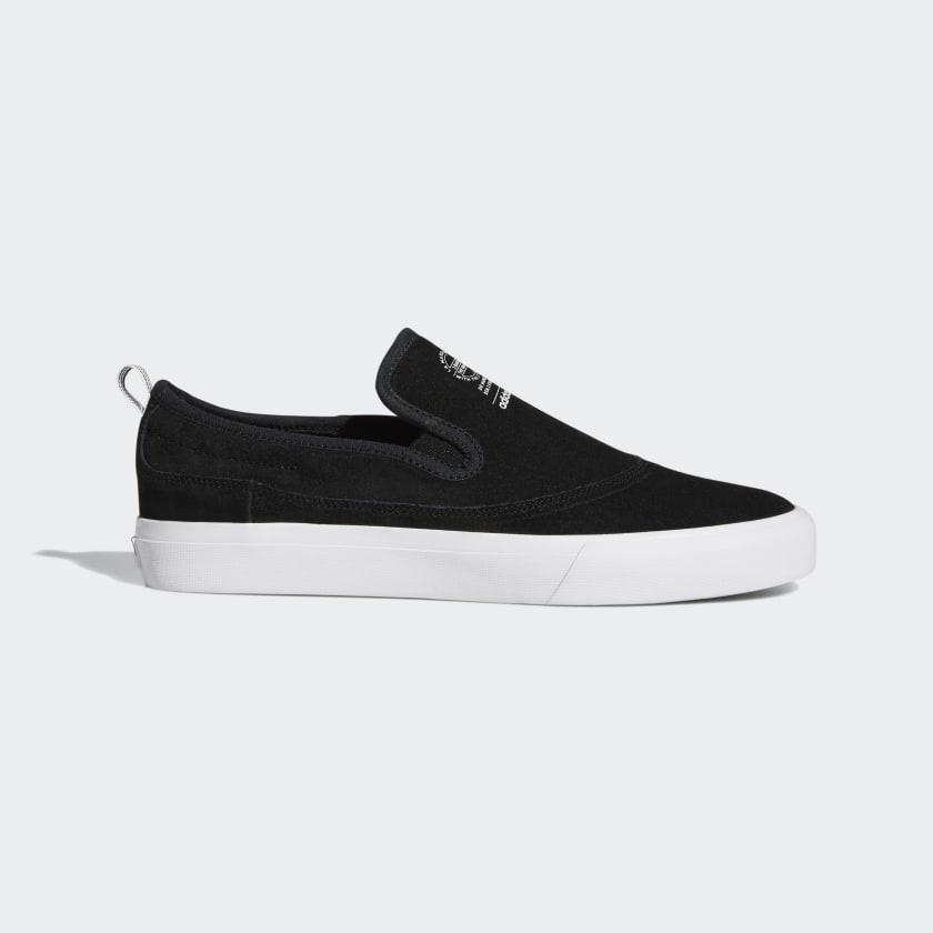 Adidas Matchcourt Slip Black White Gum EE6369