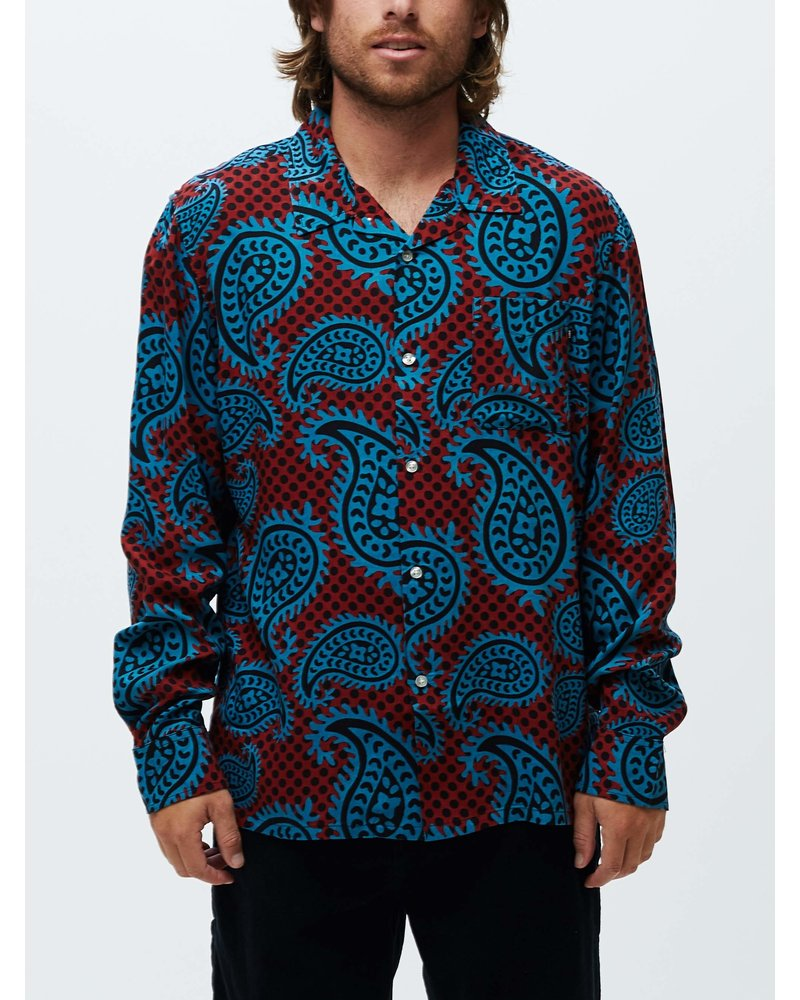 OBEY Eisley Woven L/S
