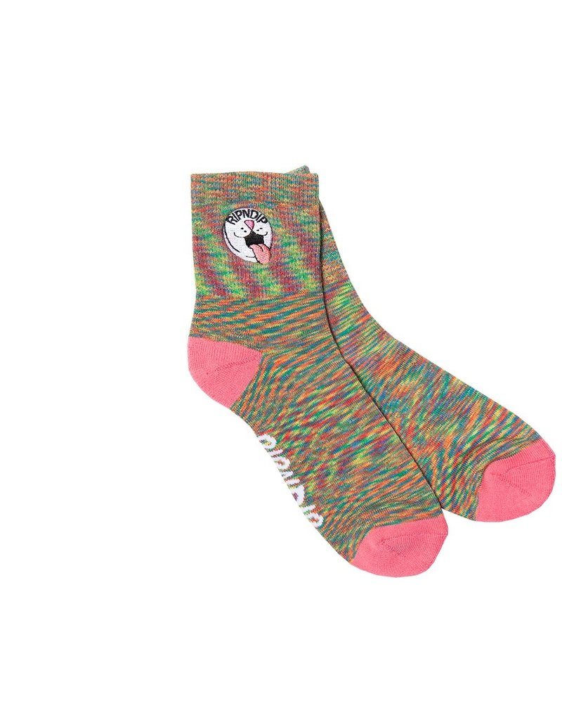 RIPNDIP RIPNDIP Pill Ankle Socks