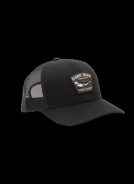 Dark Seas Black Tip-Hat