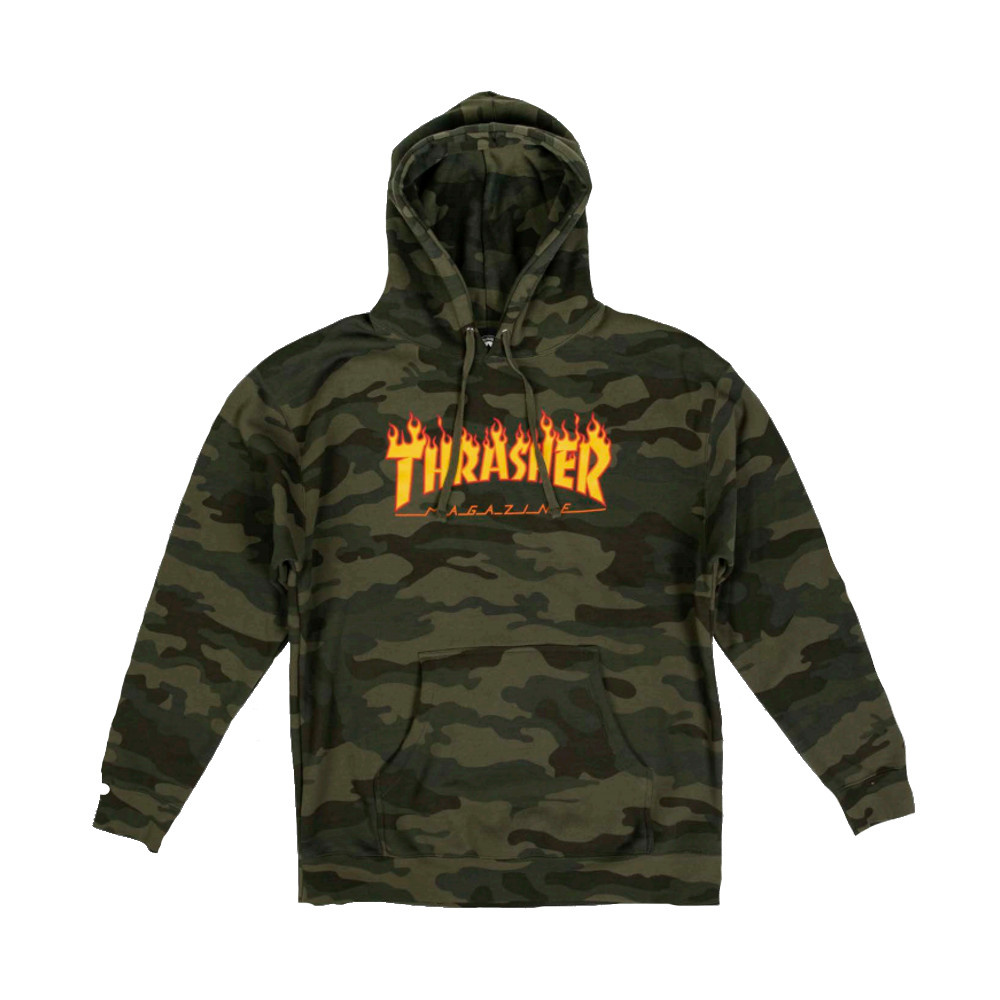 Thrasher Thrasher Flame Logo Hood