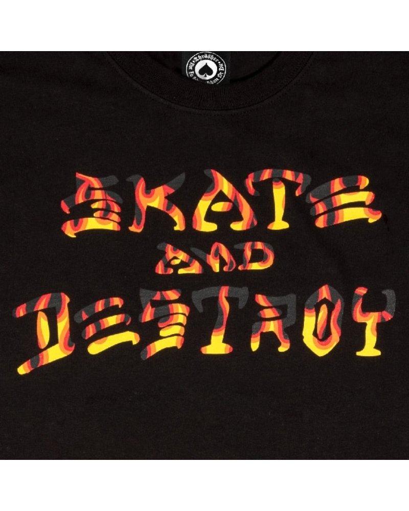 Thrasher Thrasher Skate And Destroy BBQ T-Shirt