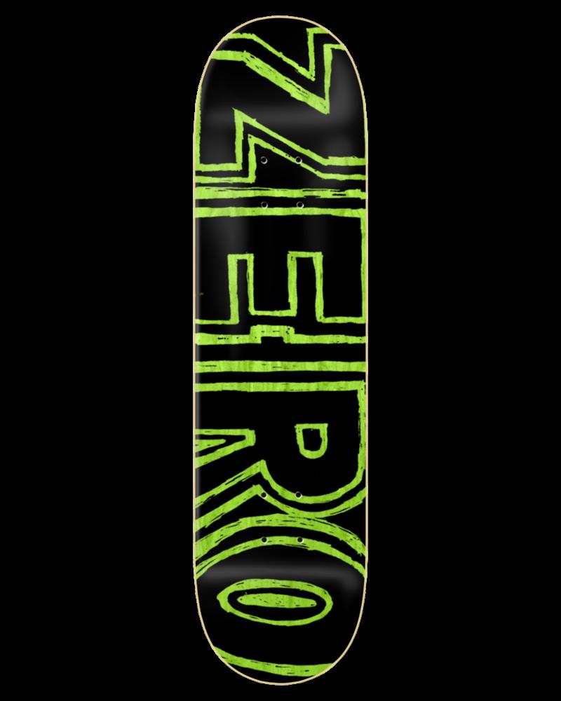Zero Zero Hand Drawn Bold Hybird 8.0
