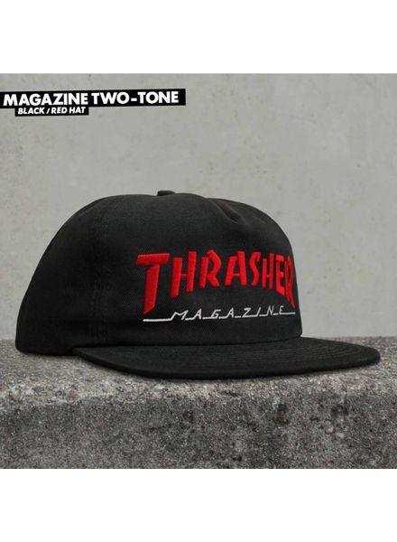 Thrasher Thrasher Magazine Logo Two-Tone Hat