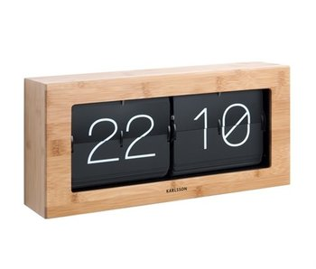 Flip Clock 'Bold Flip' - Karlsson Clocks - Axeswar Design