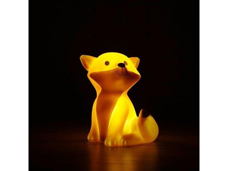 Atelier Pierre LED Nacht Lampje  'Cesar Fox' (oranje)