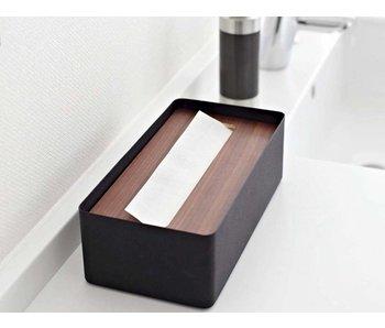 Tissue Case 'Rin' (brown/black)