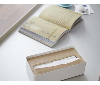 Tissue Case 'Rin' (natural/white)