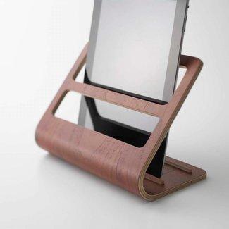 Yamazaki  Support Tablette & Télécommande 'Rin' (brun)