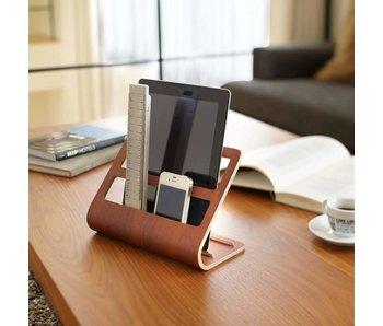 Support Tablette & Télécommande 'Rin' (brun)