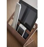 Yamazaki  Tablet & Remote Rack 'Rin' (brown)