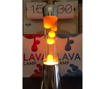 Lava Lamp (chrome/orange)