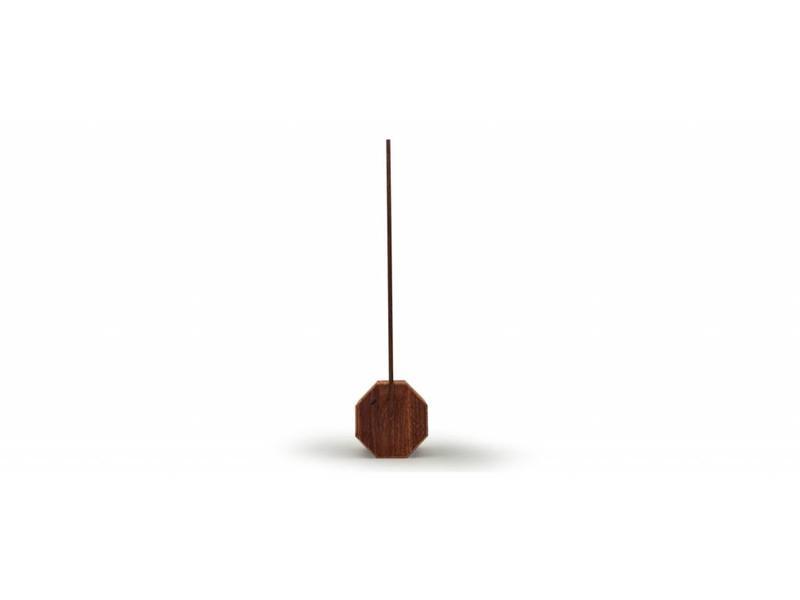 Gingko Lampe de Bureau 'Octagon One' (noyer)