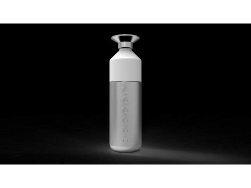 Dopper Waterfles 'Dopper Steel 490 ml'