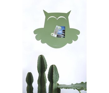 Magneetbord 'Uil'