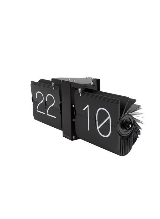 Flip Clock 'No Case' (zwart/mat zwart)