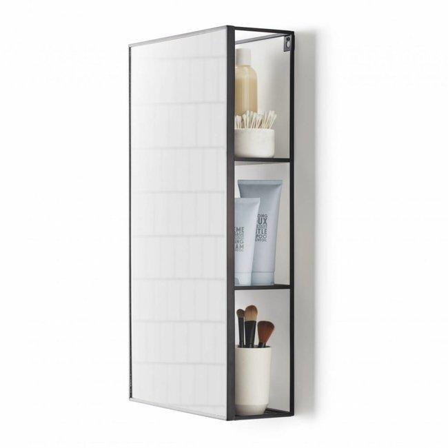 Mirror and Storage Unit 'Cubiko'