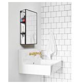 Umbra Mirror and Storage Unit 'Cubiko'