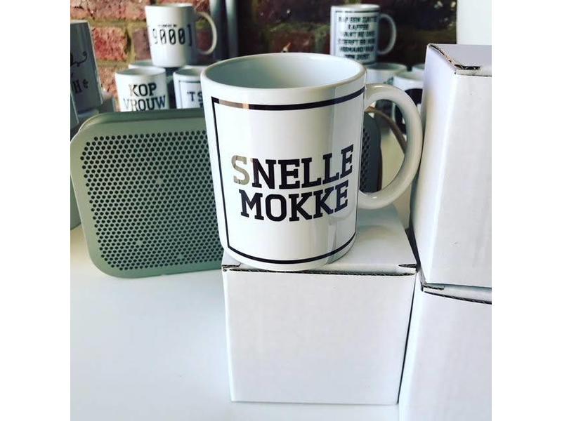 Urban Merch Tasse 'Snelle Mokke'