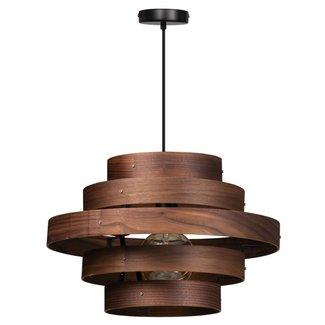 ETH Plafondlamp Walnut