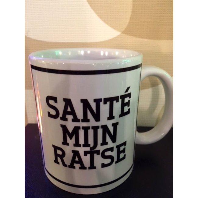 Urban Merch Tasse 'Sante My Ratse'