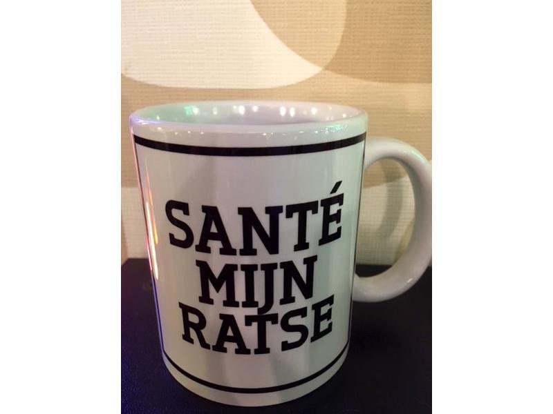 Urban Merch Tasse 'Santé Mijn Ratse'