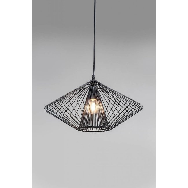 Karé Design Pendant Lamp Modo Wire Round