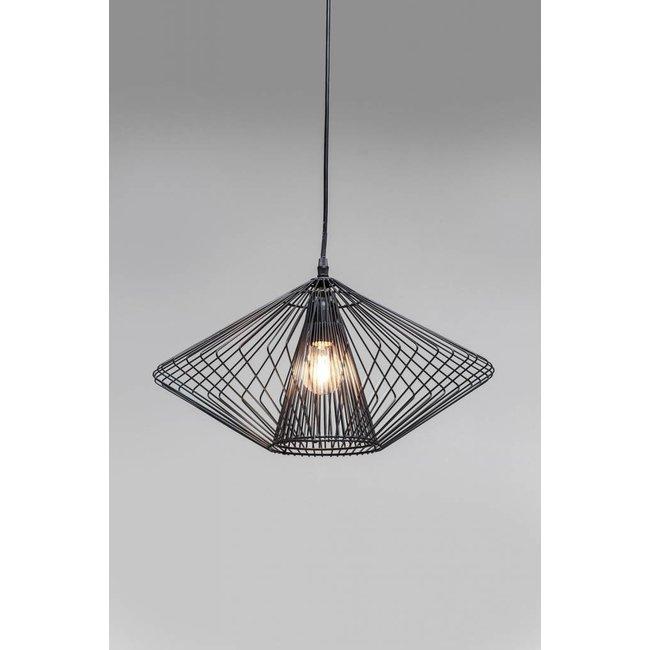 Karé Design - Plafondlamp Modo Wire Round - zwart