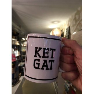 Urban Merch Tasse 'Ket Gat'