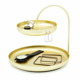 Umbra Accessory Tray 'Poise' (gold)