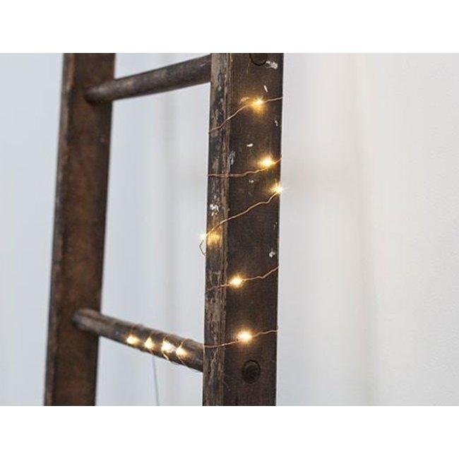 Kikkerland Lichtkette Kupfer