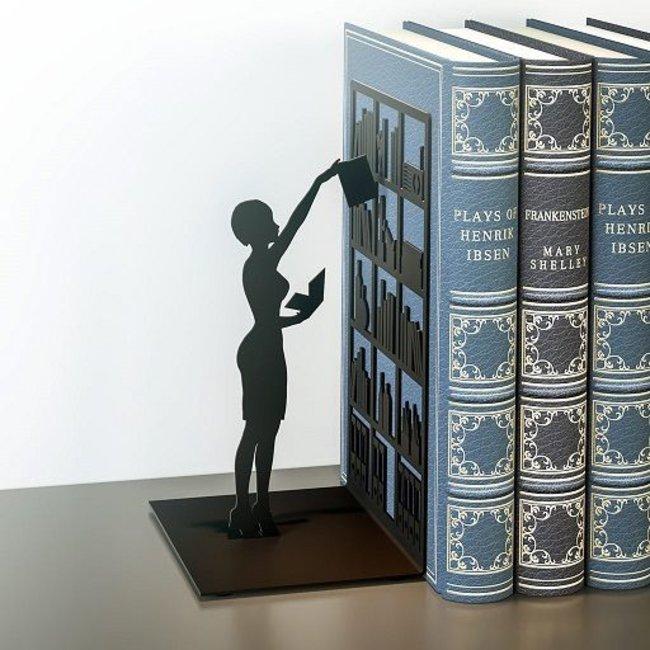 Buchstütze Die Bibliothek