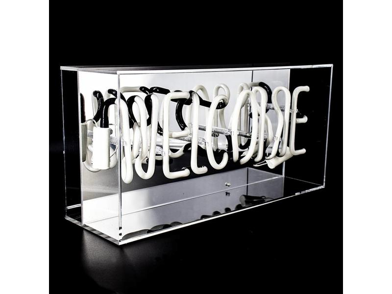 locomocean Plexi Box Néon 'Welcome'