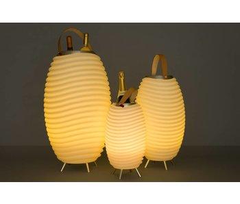 Speaker + LED Lamp + Wine Cooler 'Synergie 65' (large)