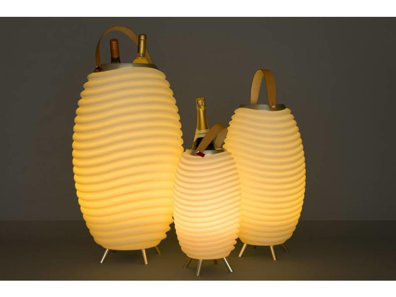 Kooduu Speaker + LED Lamp + Wijnkoeler 'Synergie 65' (large)
