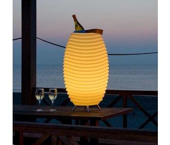 Speaker + LED Lamp + Wine Cooler 'Synergie 35' (small)