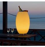 Kooduu Speaker + LED Lamp + Wine Cooler 'Synergie 65' (large)