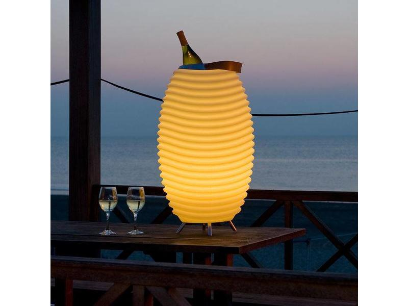 Kooduu Haut-Parleur + Lampe LED + Refroidisseur à Vin 'Synergy 65' (large)