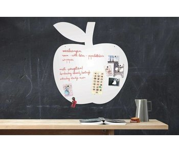 Magneet- én Schrijfbord 'Appel'