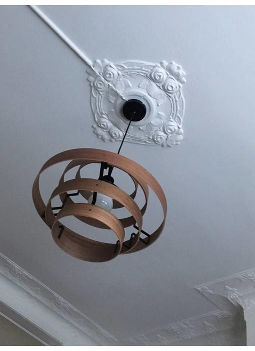 Plafondlamp 'Walnut'