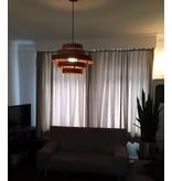 ETH Plafondlamp 'Walnut'