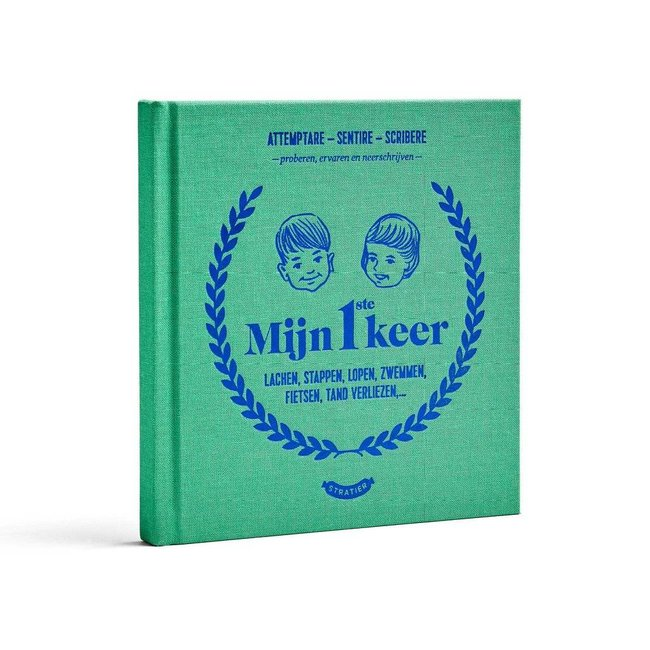 Stratier Childhood Years Book 'Mijn 1ste Keer'