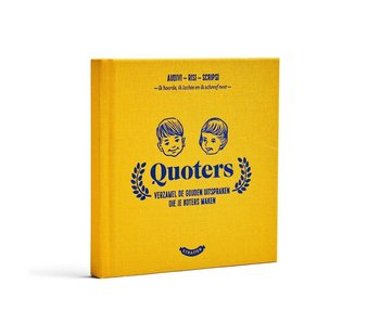 Wonderjaren Boekje 'Quoters'